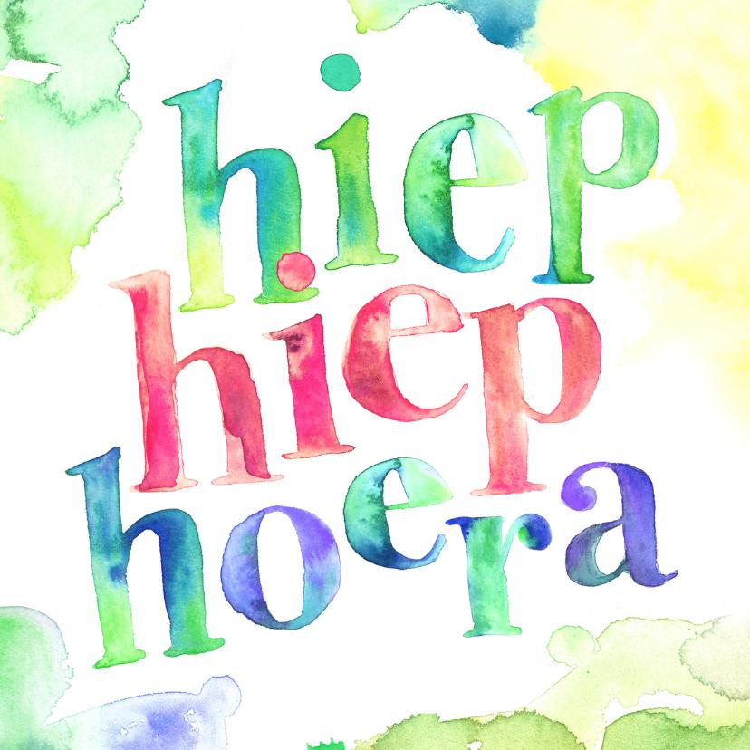 Hoera … 50