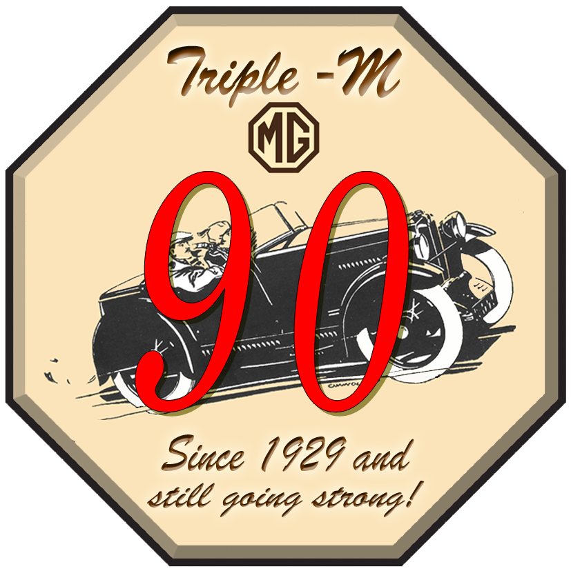 90th Logo Triple M