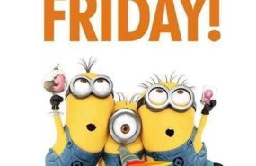 It's Friday ..