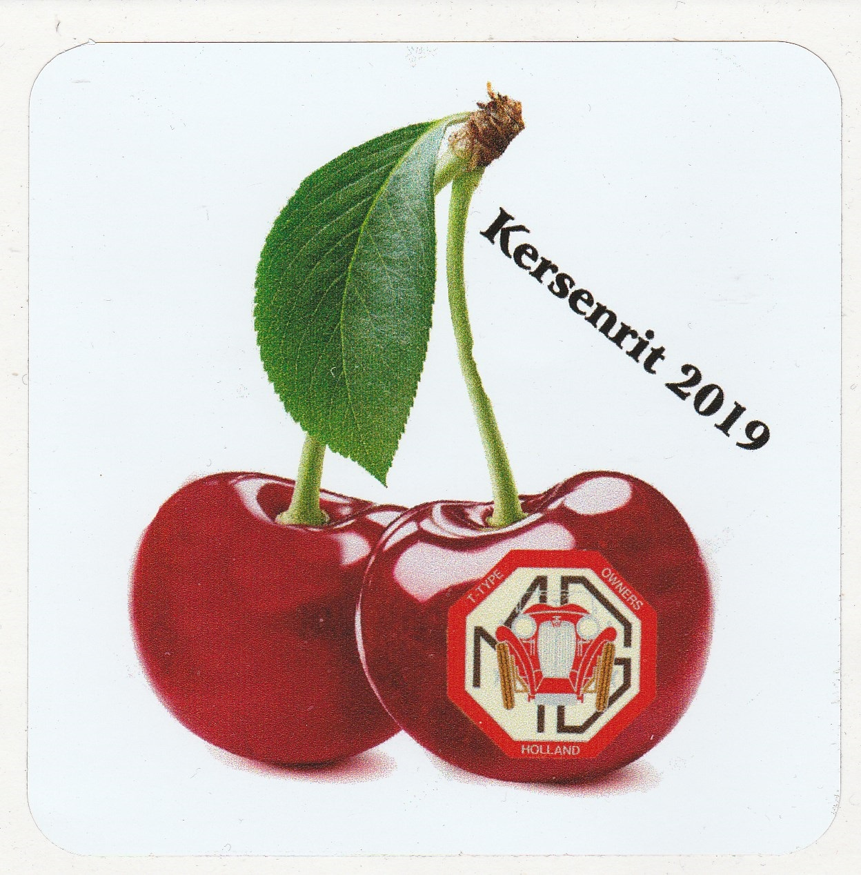 Kersenrit 2019 Sticker