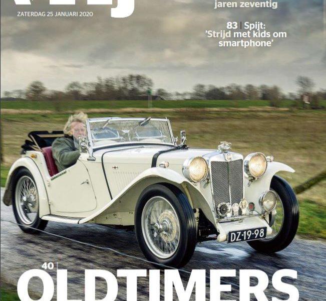 Oldtimers Achter Het Stuur