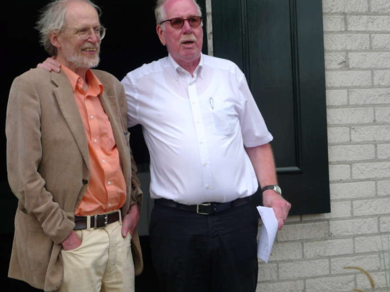5-7-2015: John (links) Op Zijn Verjaardag Tijdens De Kersenrit
